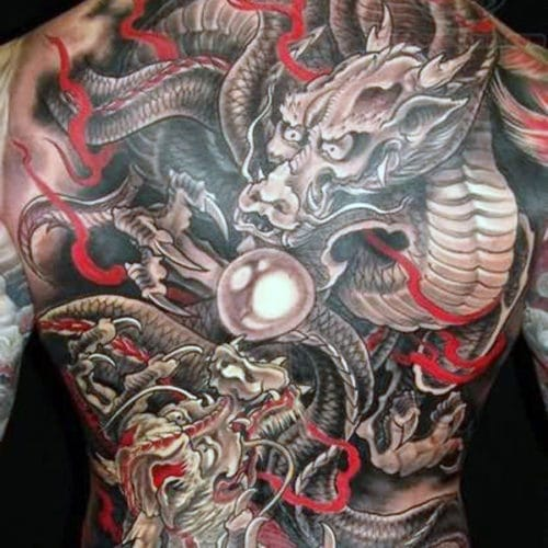 Awesome Asian Dragon Tattoo Designs