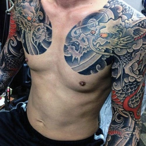 Chinese Dragon Tattoos For Guys