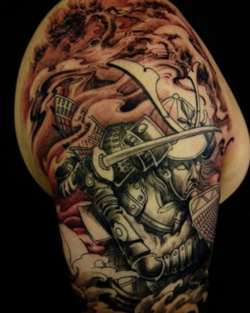 Cool Arm Tattoos For Guys - Warrior