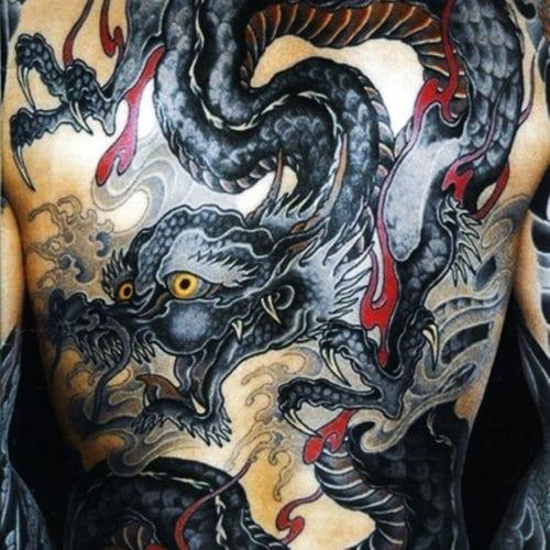 Cool Asian Dragon Tattoos