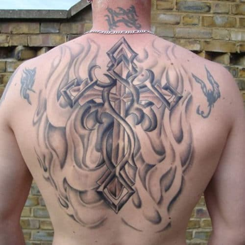 Cool Cross Tattoos For Christians