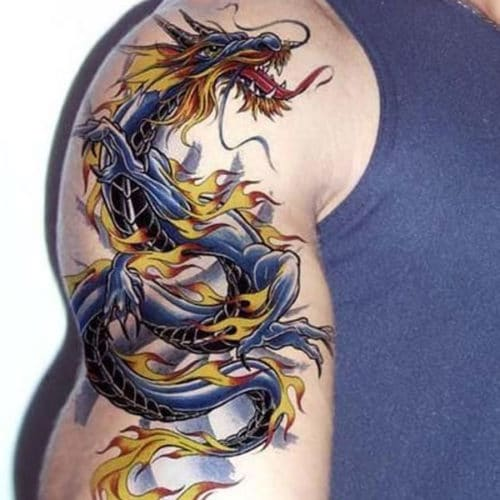 Cool Dragon Tattoo Drawings For Guys