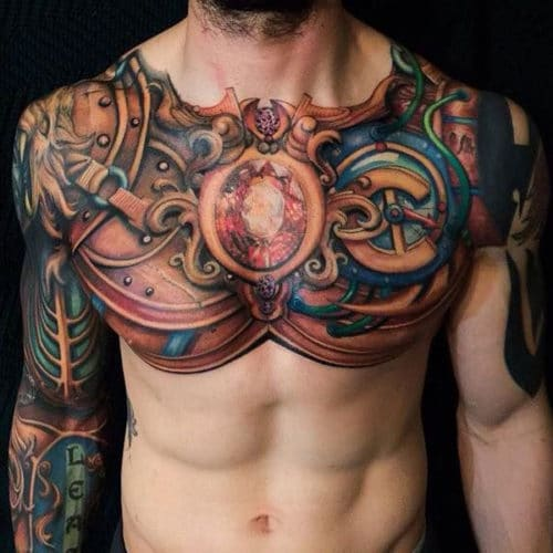 Full Chest Tattoo