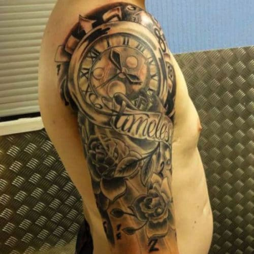 Cool Half Sleeve Tattoo Designs For Guys