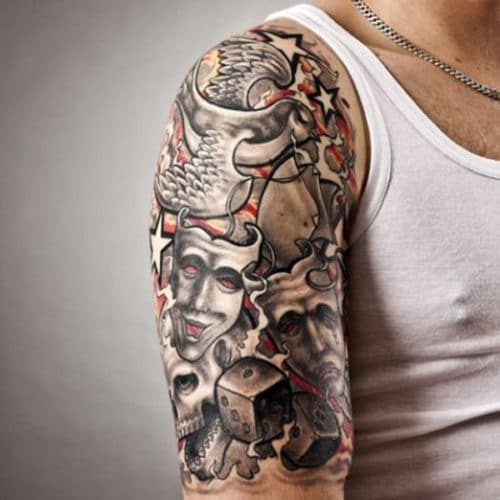 Cool Half Sleeve Tattoos For Guys