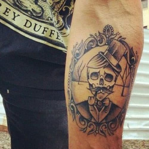 Skull Forearm Tattoos