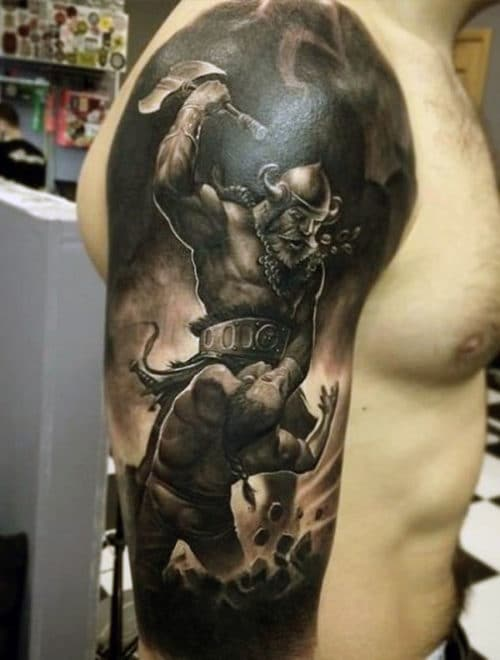 Awesome Tattoo Designs For Men on Arms