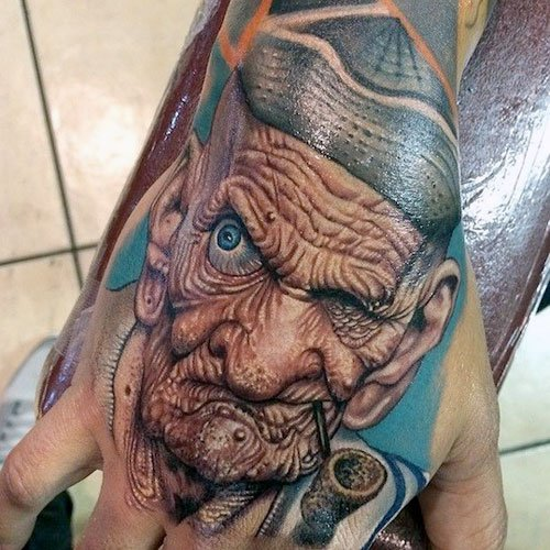 Amazing Hand Tattoo