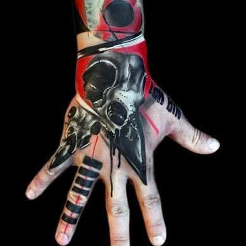 Hand Tattoo Designs For Men