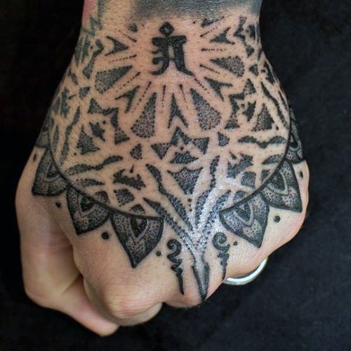 Tribal Hand Tattoo Ideas