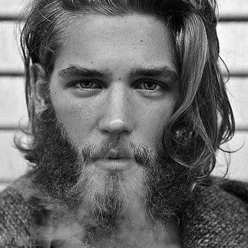 Long Beard with Long Hair