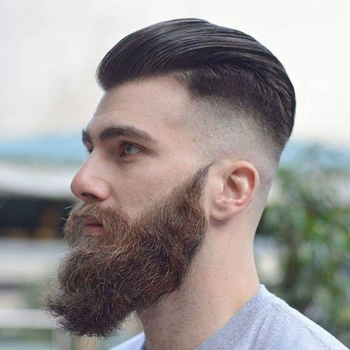 Long Ducktail Beard