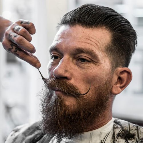 Mexican Mustache with Thick Full Beard