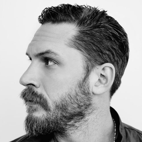 Tom Hardy Beard and Mustache