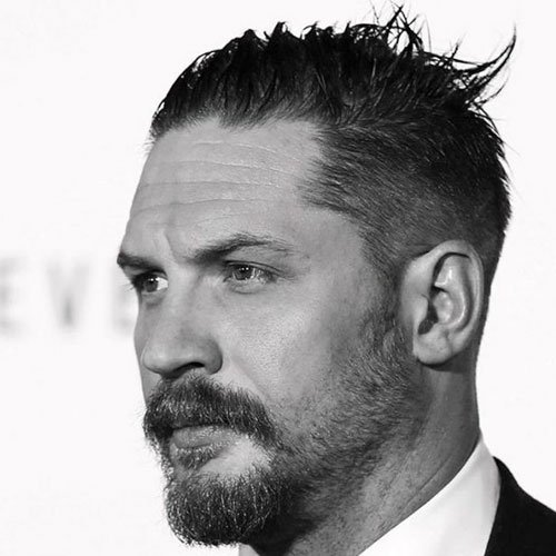 Tom Hardy with a Beard