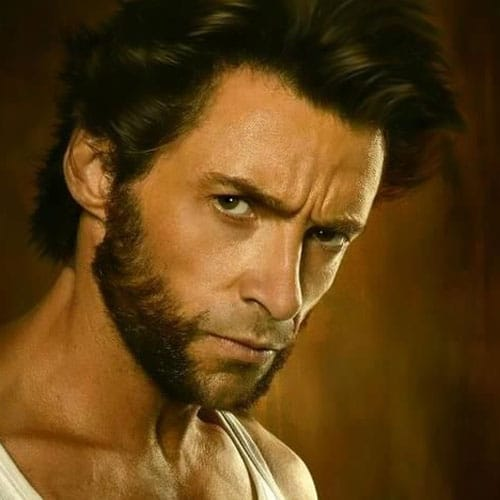 wolverine facial hair style wolverine beard style beard styles today 2017 7215 | Wolverine Beard X Men