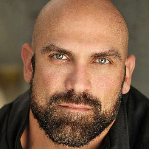 bald with a beard 17 beard styles for bald men. Black Bedroom Furniture Sets. Home Design Ideas