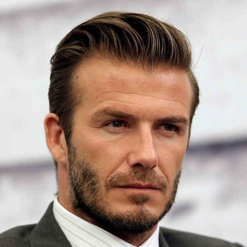 David Beckham Facial Hair