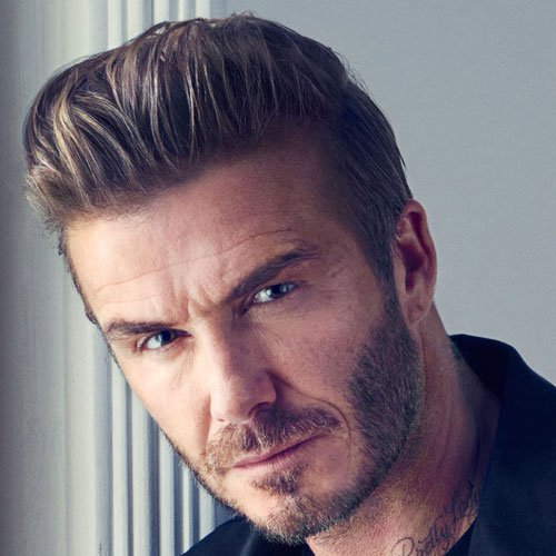 David Beckham Full Beard