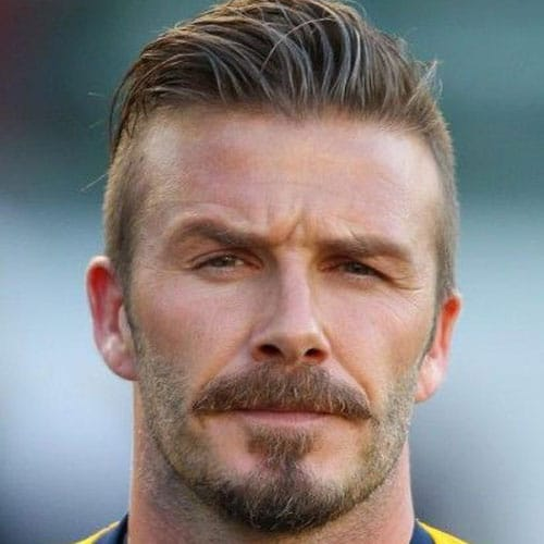 David Beckham Beard 2018