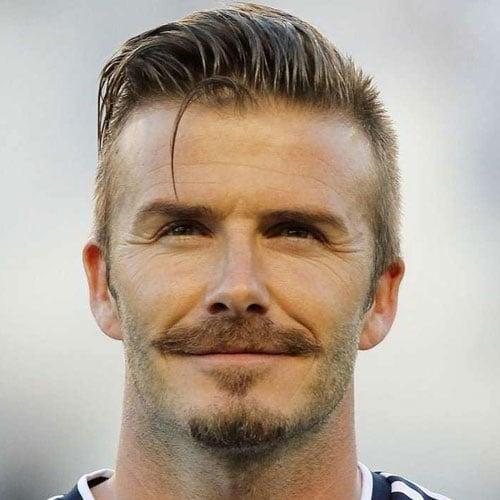 David Beckham Mustache