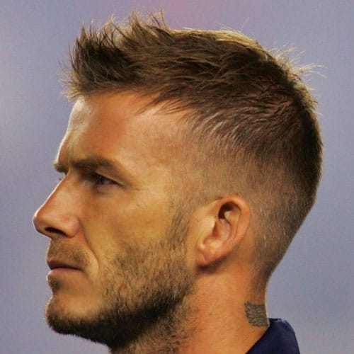 David Beckham Short Beard