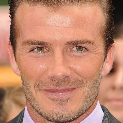 David Beckham Stubble
