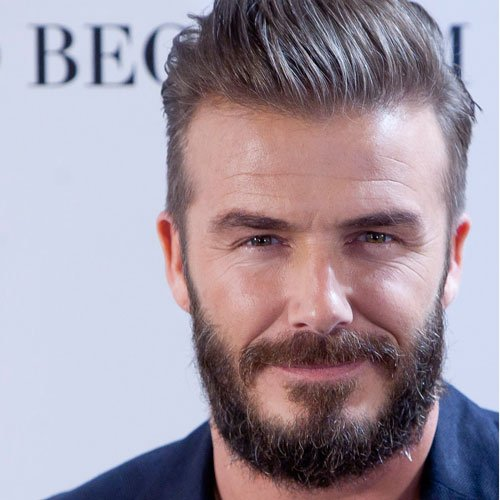 David Beckham Thick Beard