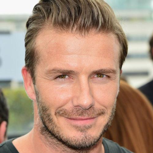 Hot David Beckham Beard