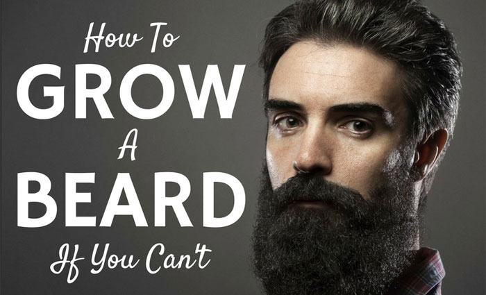 How To Grow A Beard If You Can't
