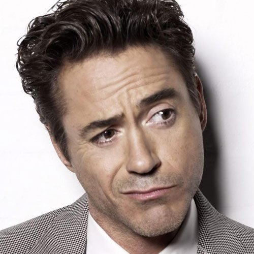 Robert Downey Jr Facial Hair
