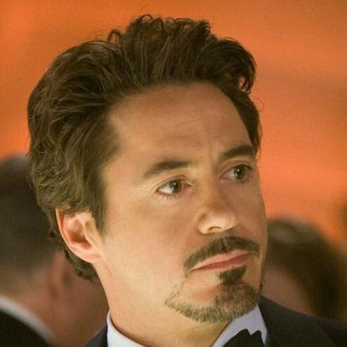 Tony Stark Beard and Mustache