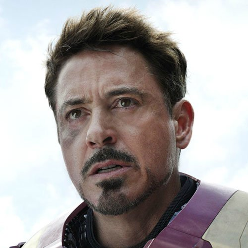 Tony Stark Facial Hair