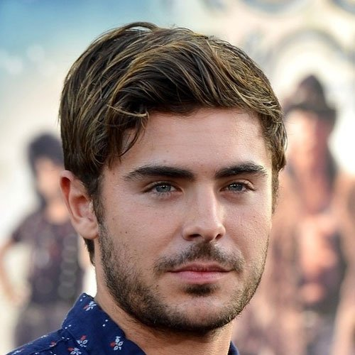 Zac Efron Beard and Mustache