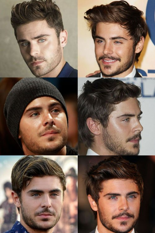 Zac Efron Beard