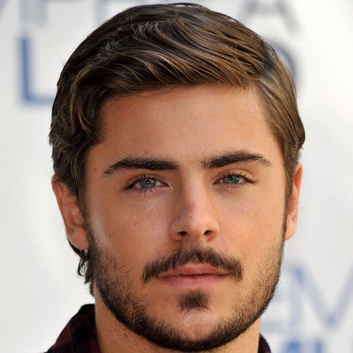 Zac Efron Facial Hair Styles