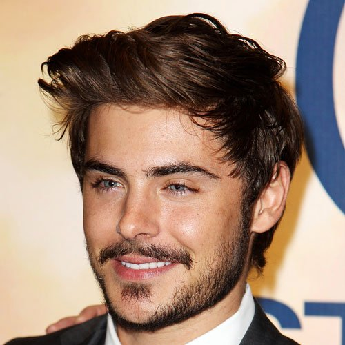 Zac Efron Facial Hair