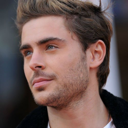 Zac Efron Stubble Beard