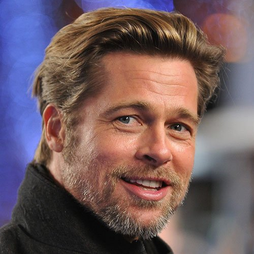 Brad Pitt Beard - Beard Styles Today 2017