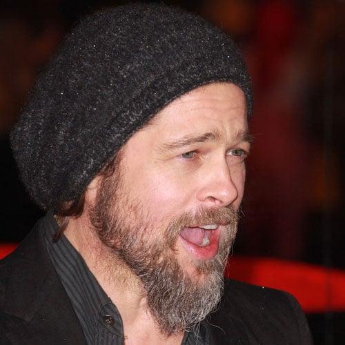 Brad Pitt Long Beard