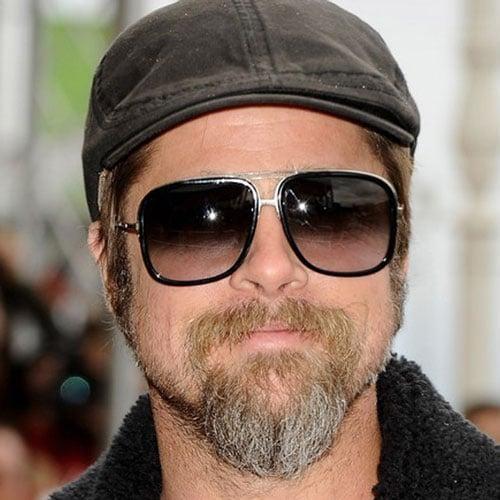 Brad Pitt Long Hipster Beard