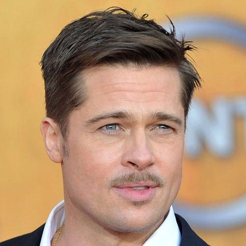 Brad Pitt Beard 2018