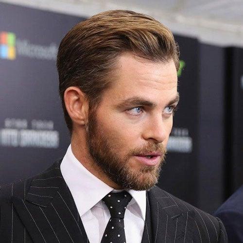 Chris Pine Beard
