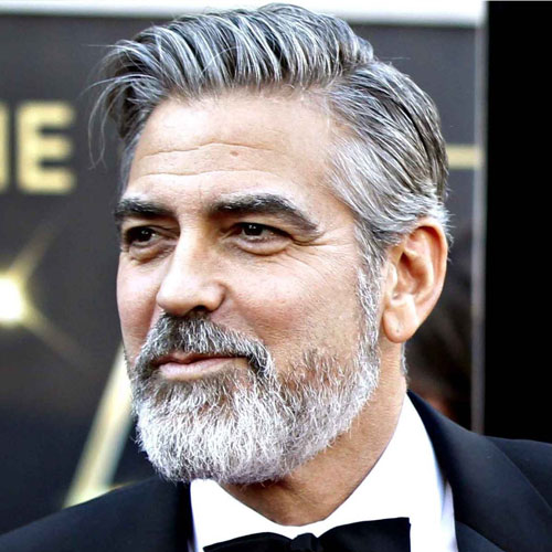 George Clooney Beard