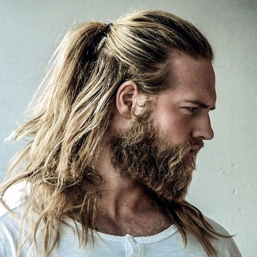 Hipster Long Hair + Full Beard