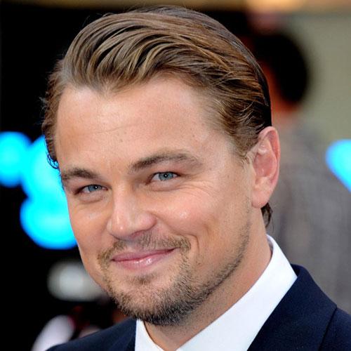 Leonardo DiCaprio Beard with Comb Over
