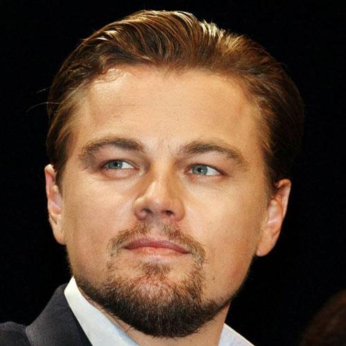 Leonardo DiCaprio Thick Goatee Beard