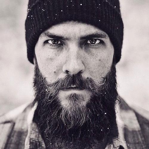 Long, Thick Beard