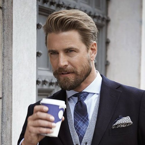 Professional Beard + Business Haircut