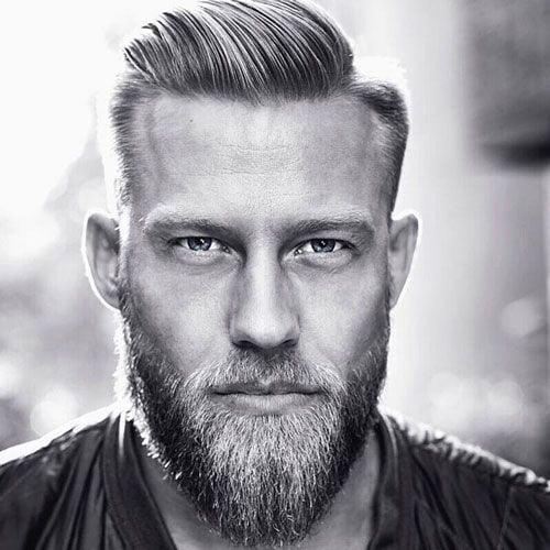 V-Shaped Full Beard